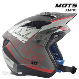 Helmet MOTS Jump UP03 grey