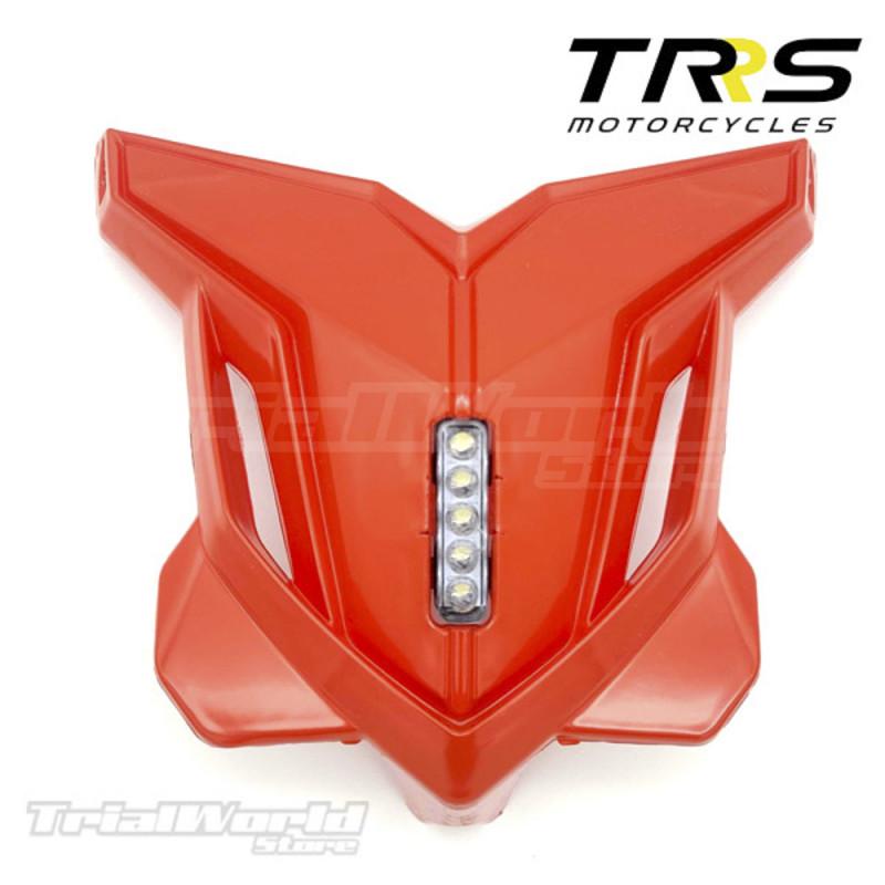 Faro delantero trial rojo TRRS GOLD