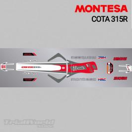 Kit adhesivos Montesa Cota 315R 2004