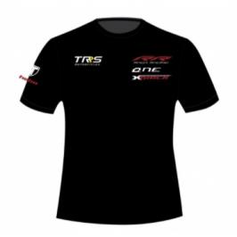 Camiseta Casual negra TRS...