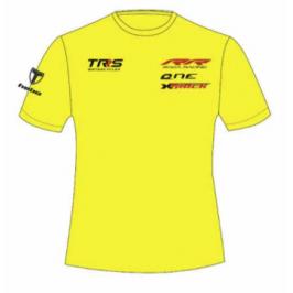 Camiseta Casual amarilla TRS Motorcycles