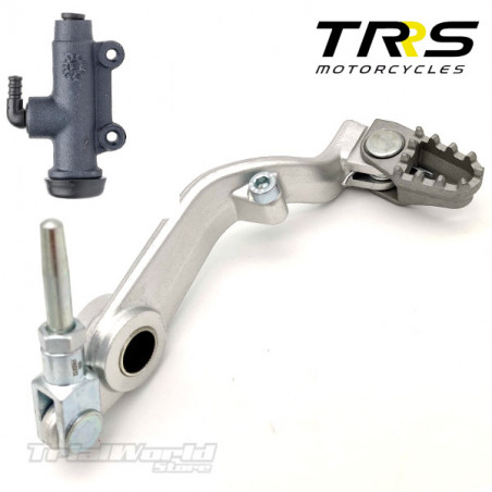 Rear brake pedal for TRRS One all models and RR until 2019