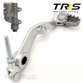 Rear brake pedal for TRRS...