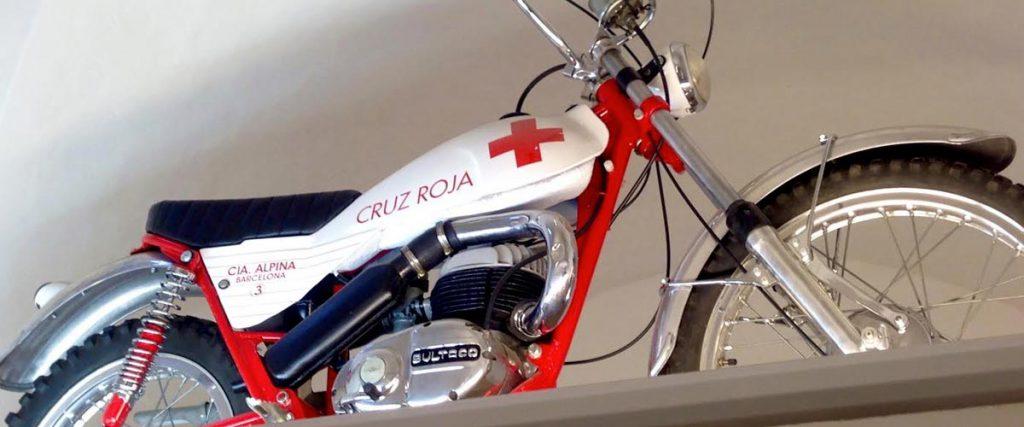 bultaco alpina cruz roja