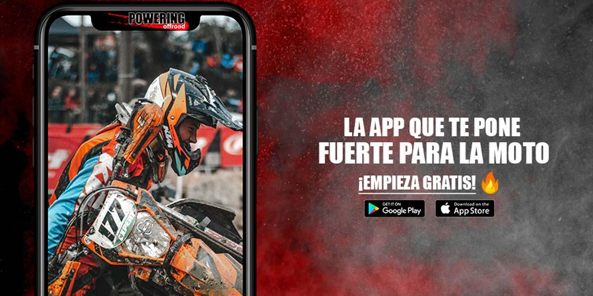 app powering offroad