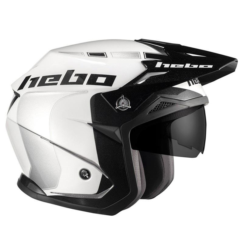 casco hebo zone 5 like blanco