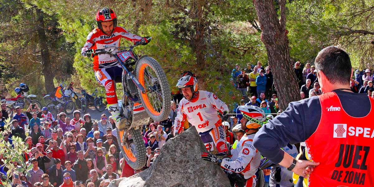 Toni Bou Campeon España Trial 2017