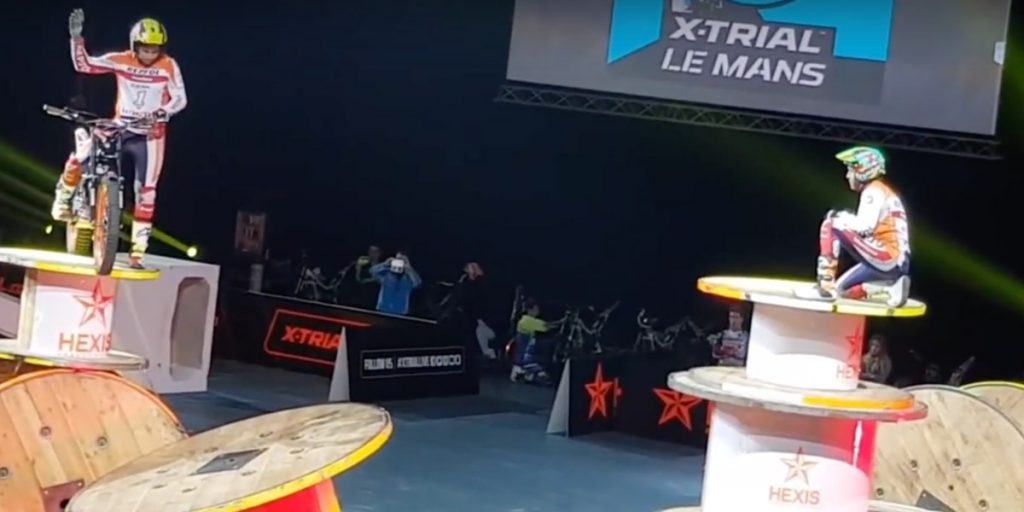 toni bou big crash le mans xtrial