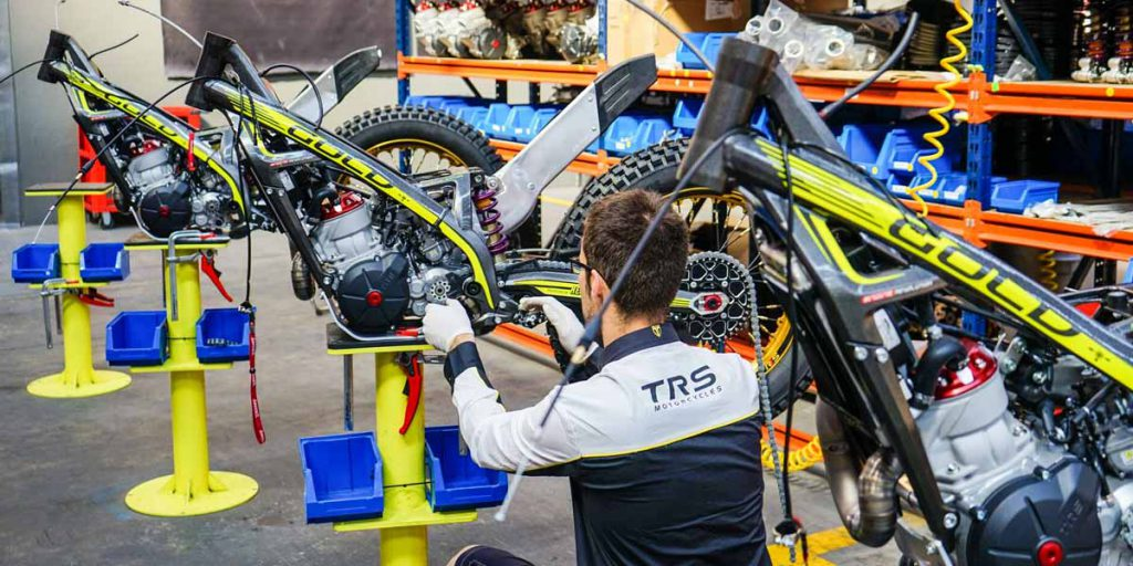 TRS Motorcycles Fabrica Trial