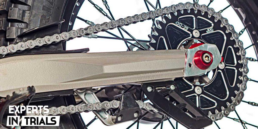 kit de transmision moto de trial