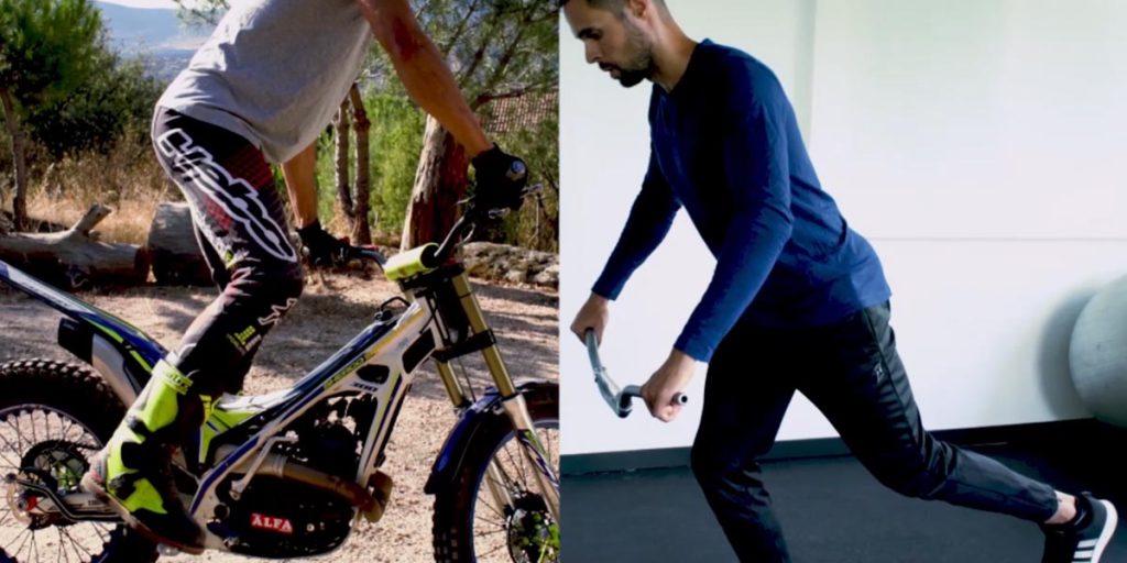 equilibrio moto de trial