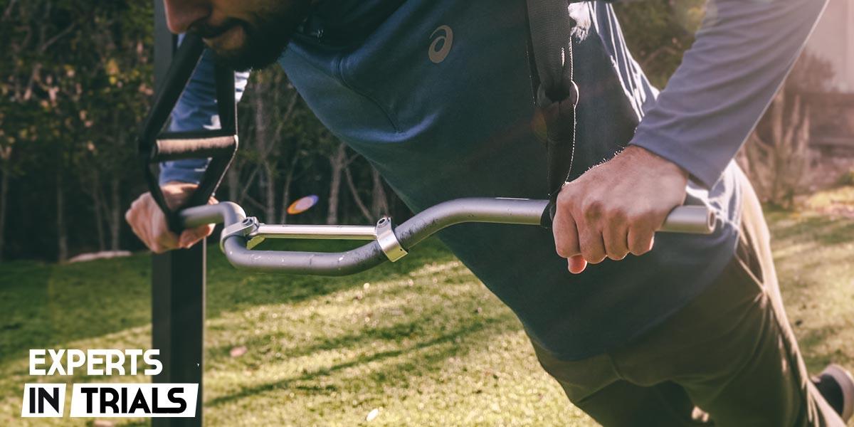 Entrenamientos físicos para Trial desde casa con TRX