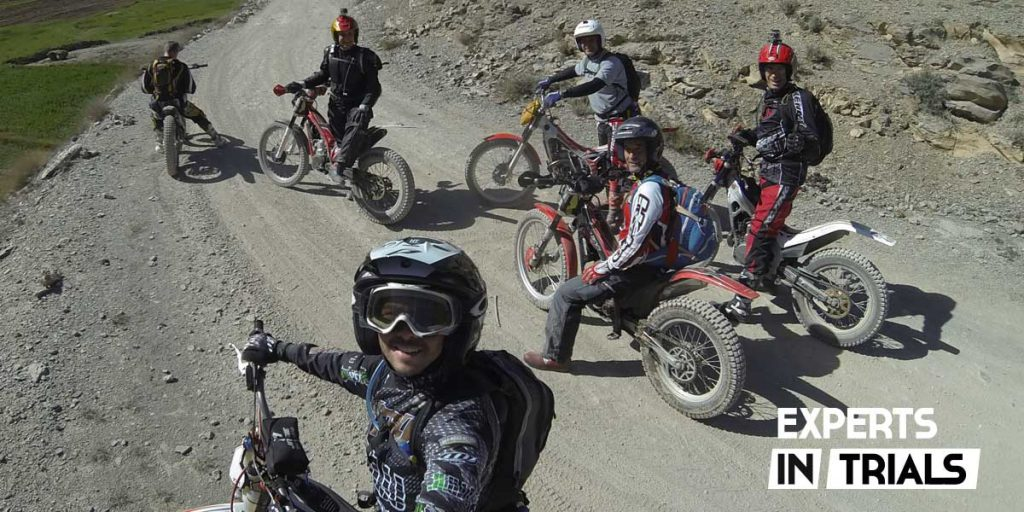 excursion moto de trial
