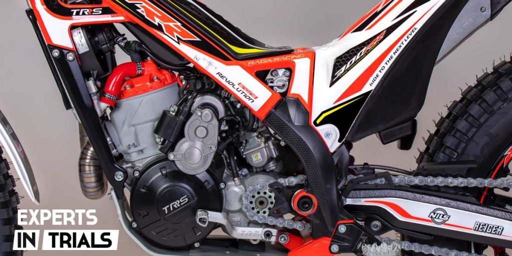 trrs raga racing arranque electrico 2020