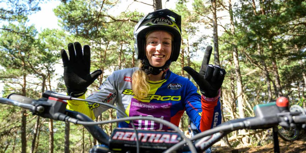 emma bristow world champion trial women 2020
