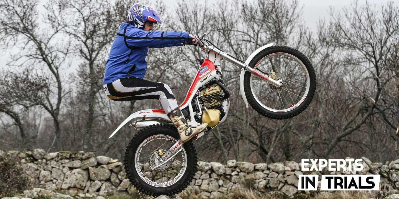 Honda TLM 260 trial