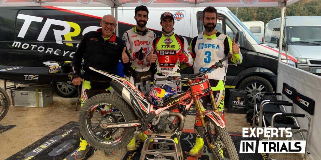 Adam Raga Campeon España Trial 2020