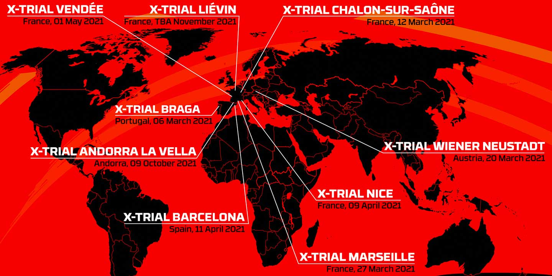 Calendario Campeonato del Mundo X-Trial 2021