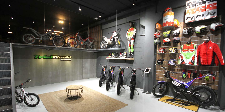 Tienda de motos de trial online en Madrid