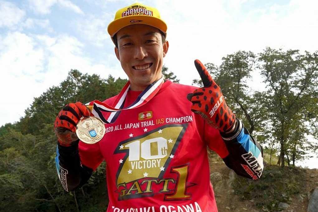 tomiyuki ogawa trial japan champion
