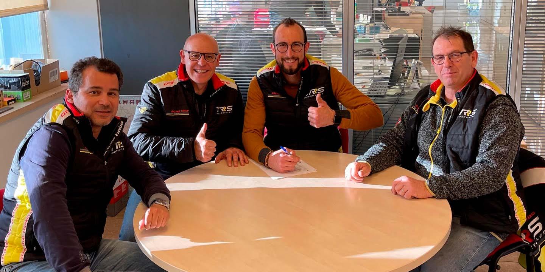 Alex Ferrer renueva con TRS Motorcycles para 2021