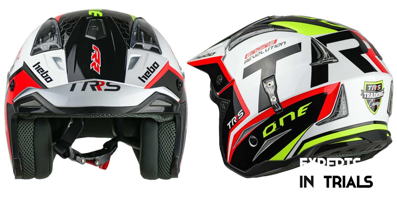Presentación casco oficial TRS Motorcycles 2021