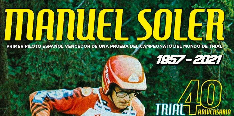 Fallece Manuel Soler, primer español en ganar una carrera del mundial de trial