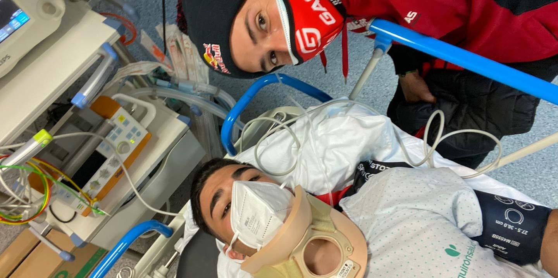 Un fuerte accidente impide a Jorge Casales disputar el CET de Arteixo