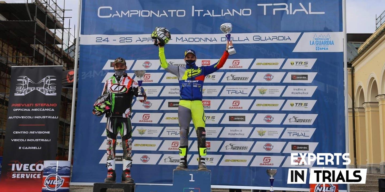Jeroni Fajardo vence en el exigente arranque del Campeonato de Italia