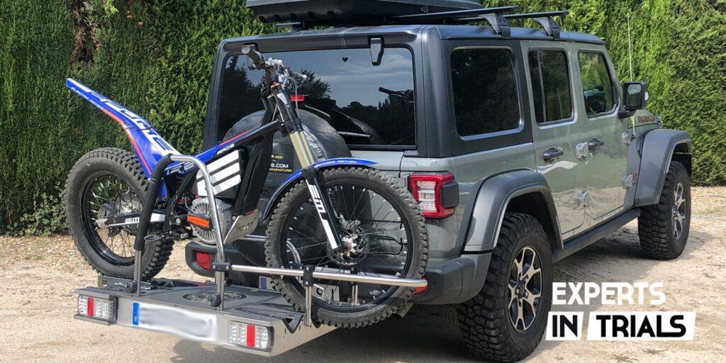 Racko Adventure remolque motos de trial