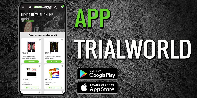 La nueva APP móvil de Trialworld Store ya está disponible