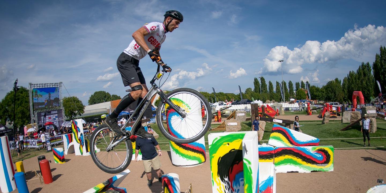 """Jack Carthy Campeón del Mundo de Trial Elite 26"""" UCI 2021"""