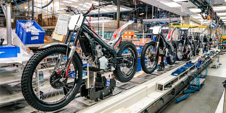 Montesa inicia la producción de la gama Cota 2022