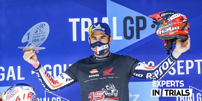 Toni Bou Campeón del Mundo de Trial 2021 tras vencer el GP de Portugal